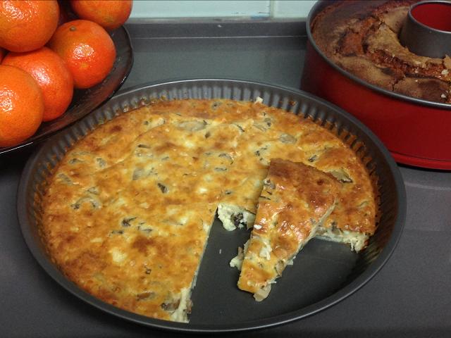 פשטידת גבינות ופטריות / המטבח של שרית