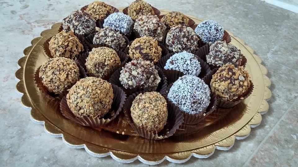 כדורי שוקולד כשרים לפסח | תמונה: אתי ממן