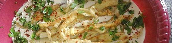 Tahini Eggplant Salad