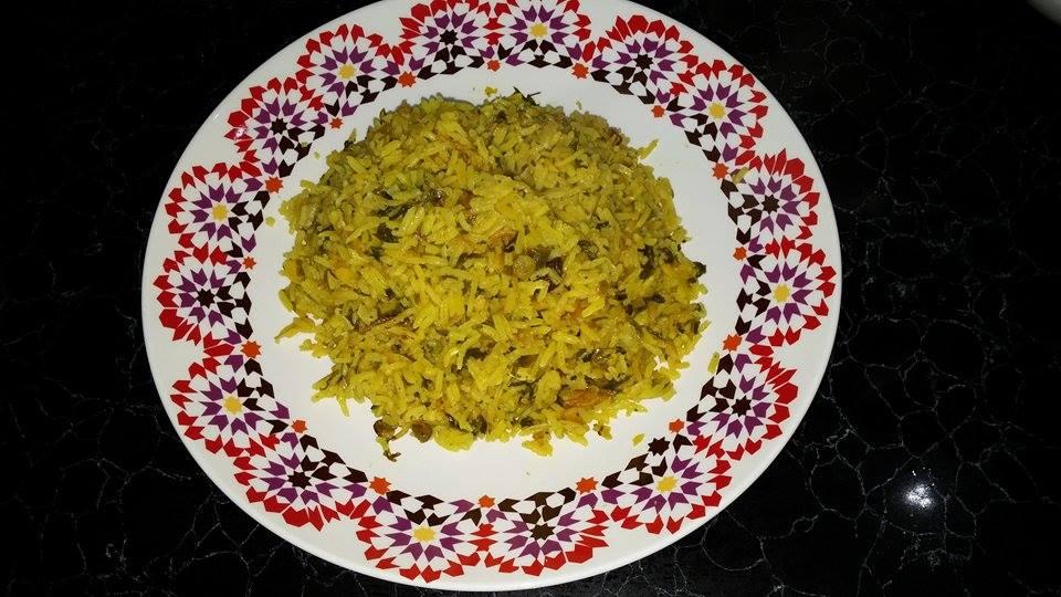 אורז פרסי ירוק