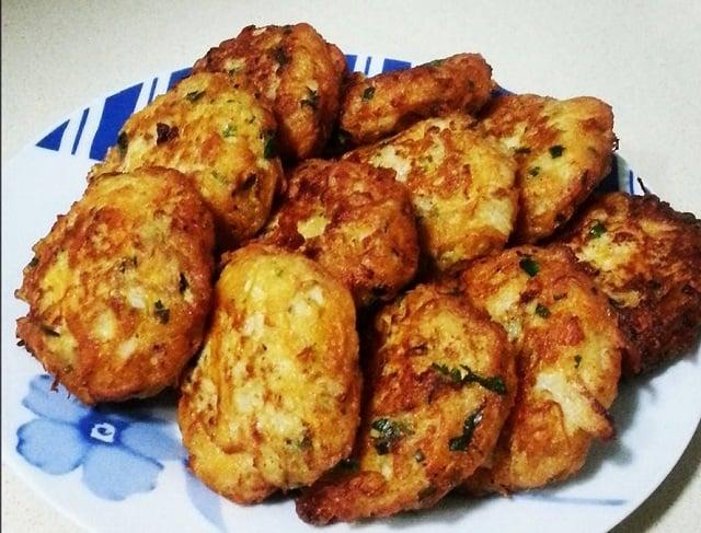 תוצאת תמונה עבור תמונות של לביבות תפוחי אדמה וחצילים