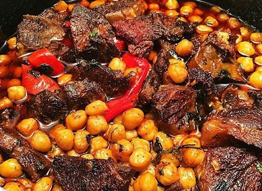 Roast-beef-with-chickpeas