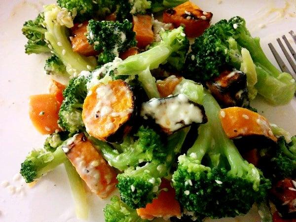 broccoli and potato salad