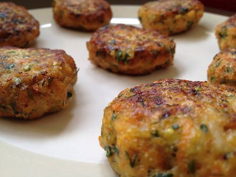 chicken cutlets with bulgur