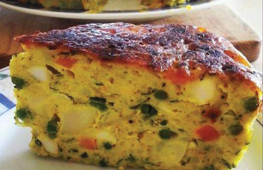 פשטידת ירקות מרוקאית