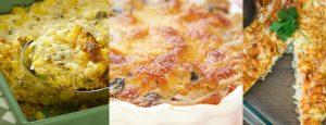 פשטידות לפסח: פטריות, תירס וגם פשטידת מצות