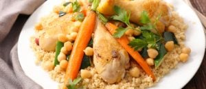 מתכון: מרק לקוסקוס עם ירקות