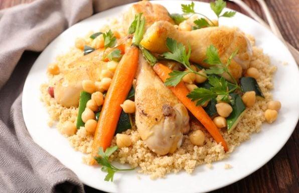 מתכון: מרק לקוסקוס עם עוף וירקות