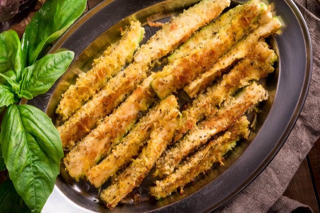 צ'יפס ירקות בתנור