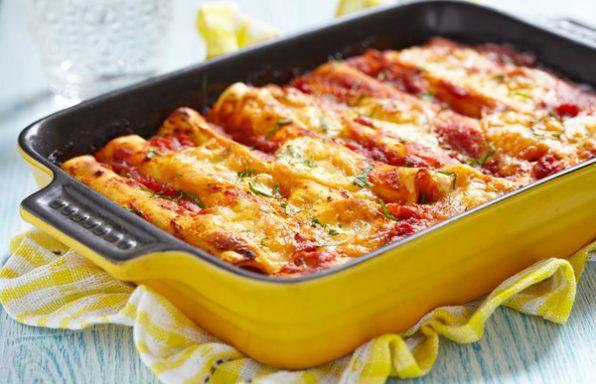 קנלוני ממולא בשר או גבינות + רטבים מעולים