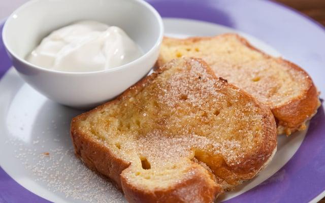 לחם מטוגן מלוח