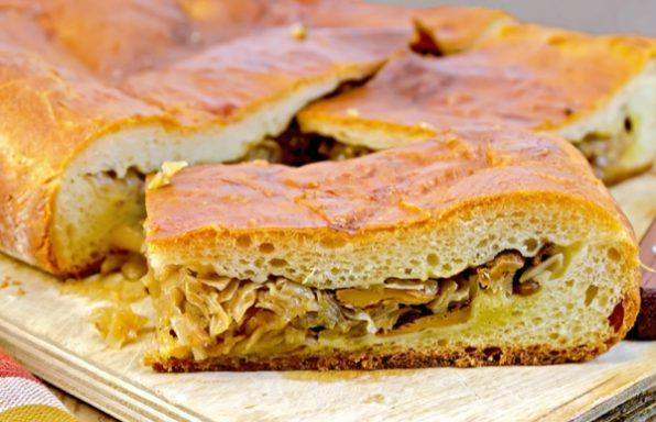 שיא השלמות: לחם ממולא בבצל מטוגן