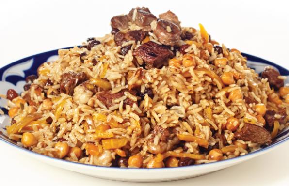 פילאף • תבשיל אורז, בשר וגזר בוכרי