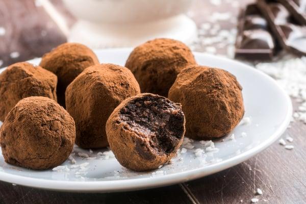 מתכון לטראפלס שוקולד   תמונה: shutterstock