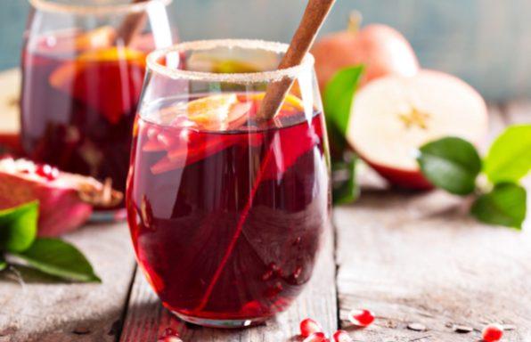 מתכון לסנגריה • משקה אלכוהולי חם לחורף