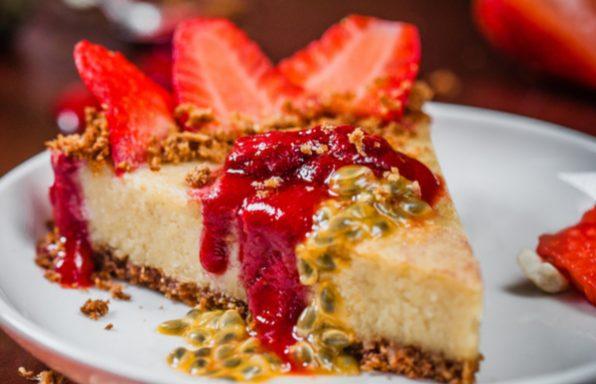 מתכון: עוגת גבינה טבעונית במרקם קרמי מושלם