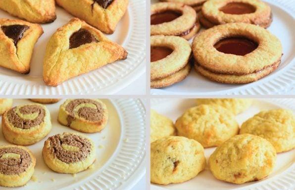 4 סוגי עוגיות פריכות מבצק אחד