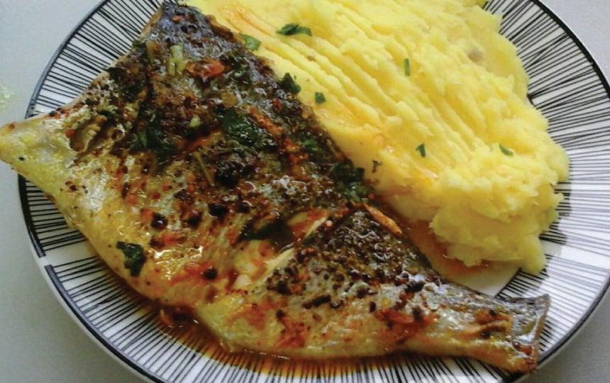 דג דניס בתנור מתכון