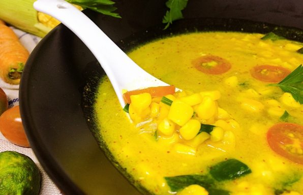 מתכון: מרק תירס תאילנדי אותנטי