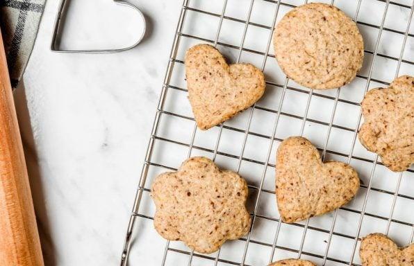 עוגיות וניל מקמח כוסמין ב-10 דקות