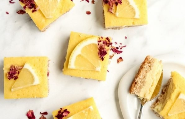 חטיפי לימון טבעוניים ובריאים