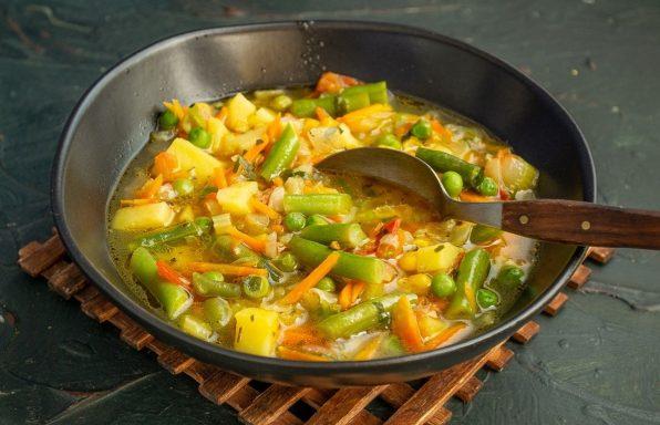 מרק ירקות משודרג ומפנק במיוחד