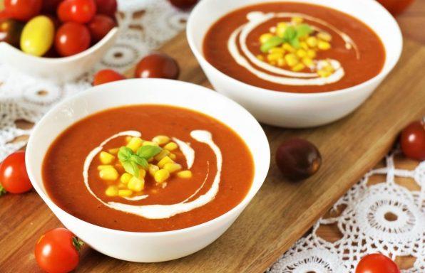מרק עגבניות קלאסי שכולם אוהבים