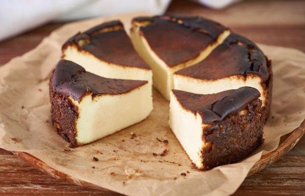 מתכון: עוגת גבינה באסקית קלאסית