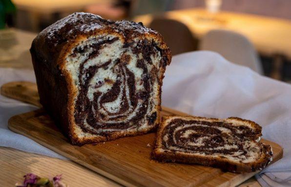 בבקה שוקולד • עוגת שמרים מפוצצת בנוטלה
