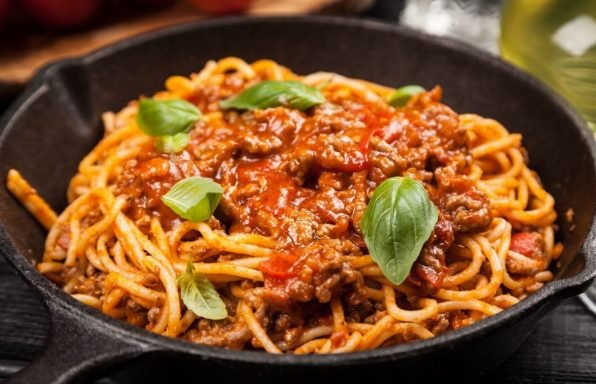 ספגטי בולונז בסיר אחד